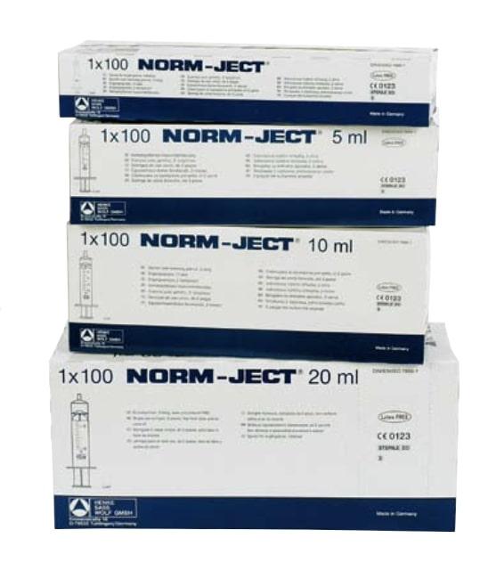 Einmalspritzen Norm-Ject (2-teilig)